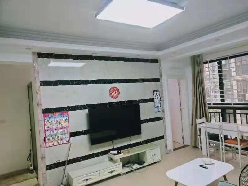 和园公馆 精装两房 家具家电齐全 拎包入住 可以短租