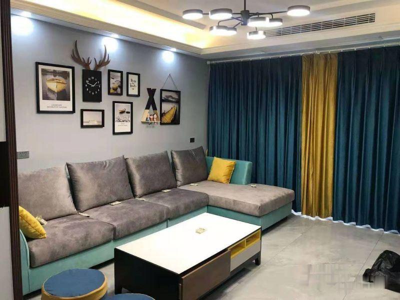 绿地华庭豪装复式楼拎包入住好房源全新精装修随时看房欢迎