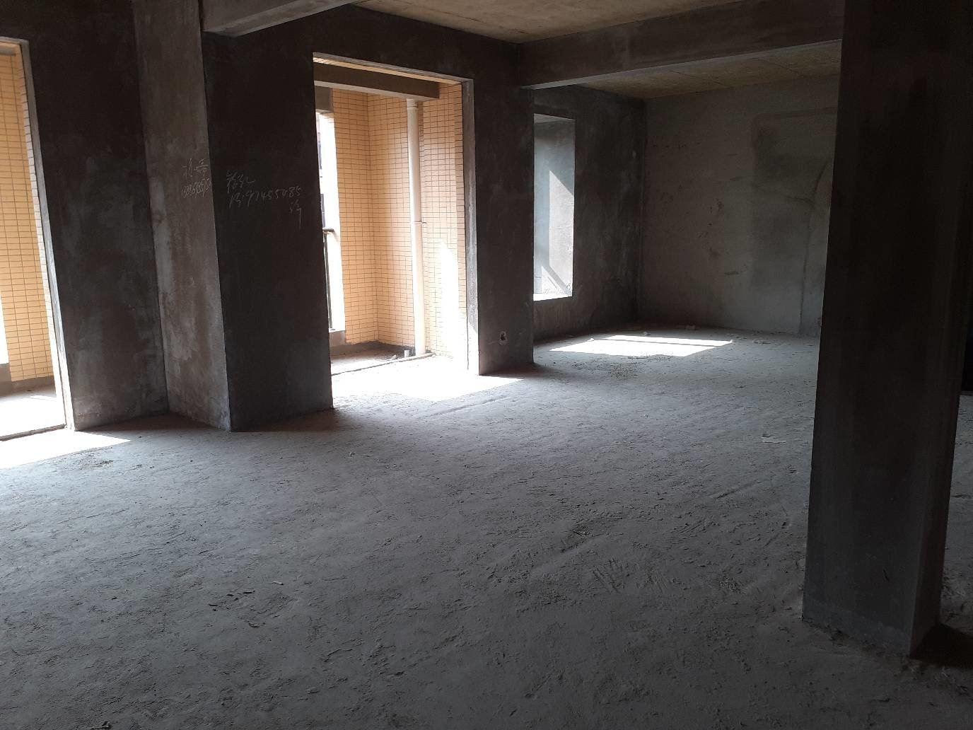新城壹号五期花园电梯洋房中高层毛坯三房看房方便