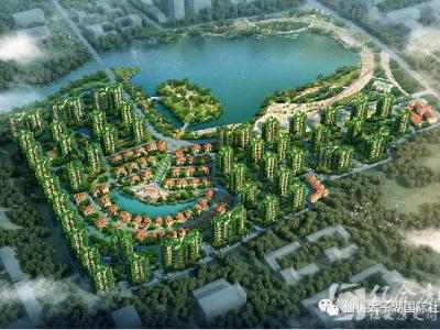 清华大学专利输出——四代住房落户仙桃太子湖