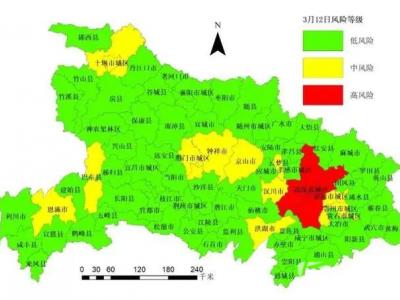 【好消息】湖北发布全省疫情风险等级:仙桃市更新为低风险地区