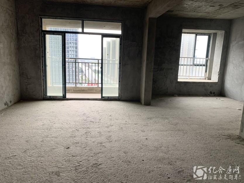 首付25万 三房客厅都朝南 新城壹号新街毛坯三房中间好楼层