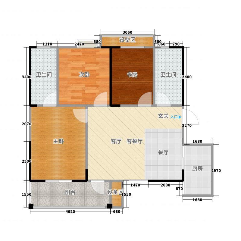 明珠新城三房两厅一卫看房约